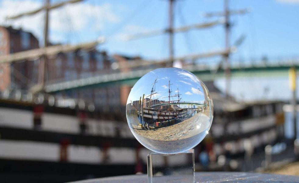 Schiff in Bremen